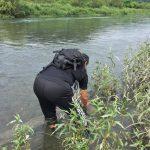 多摩川の放射線調査 2017年8月27日