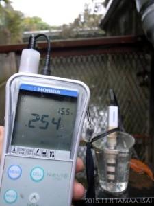 電気伝導度の測定